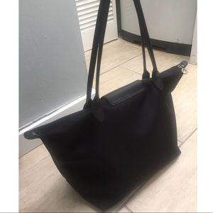 92698a8708d Longchamp Bags - Longchamp   Le Pilage Tote in All Black